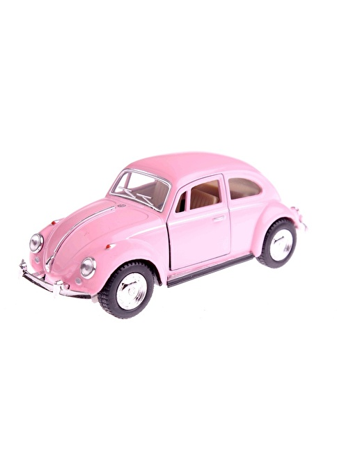Kinsmart 1967 Volkswagen Classical Beetle 1/32 Çek Bırak Die Cast Model Araç Renkli